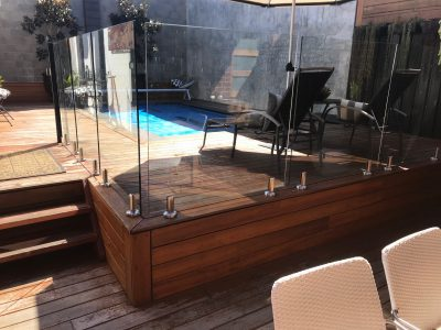 Jarrah Decking, Before & After